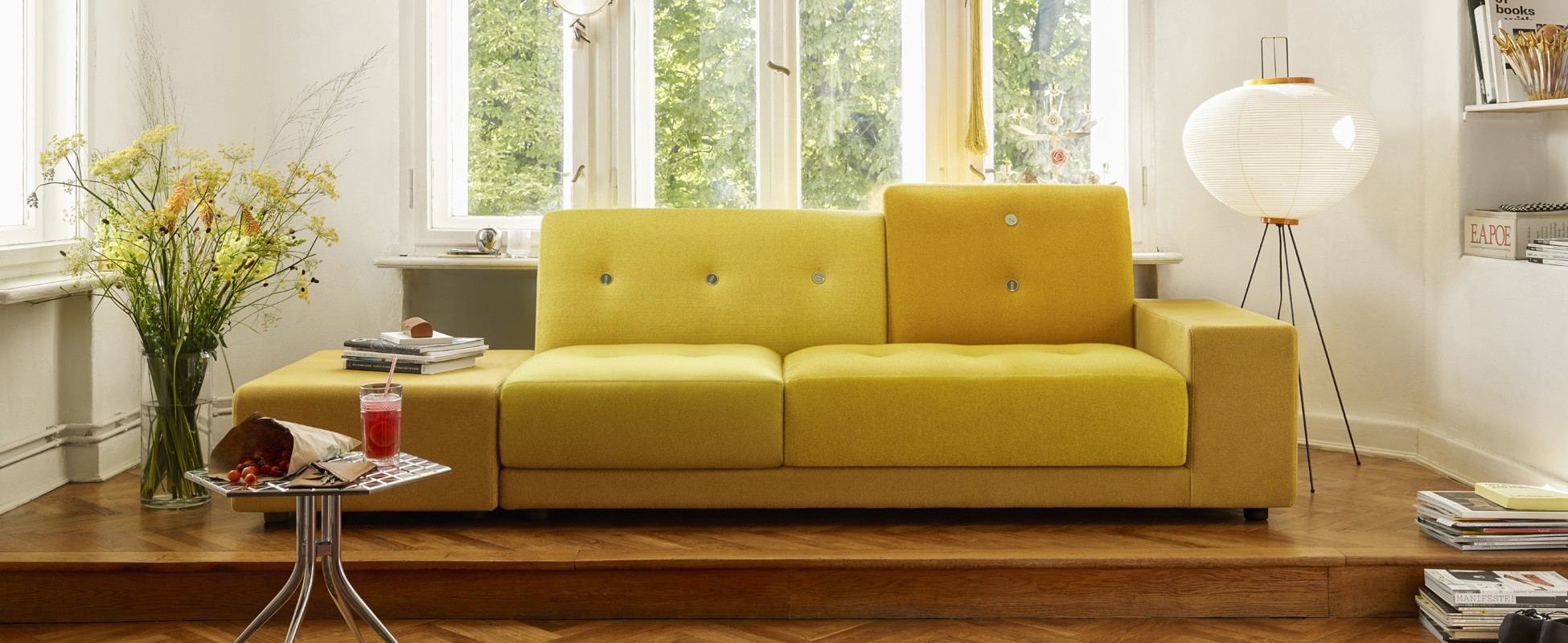 vitra polder sofa in berlin by steidten+