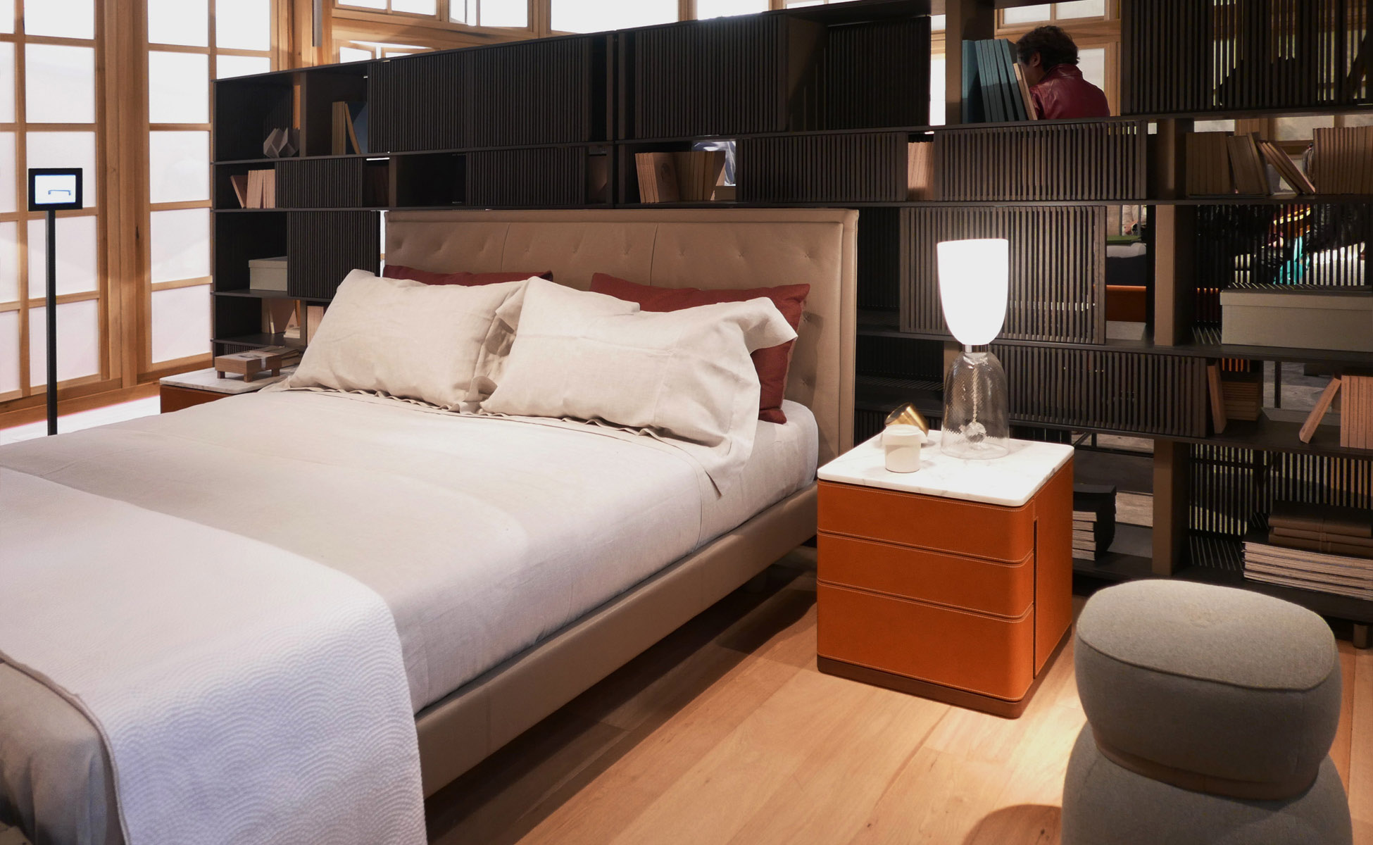 01 poltrona frau cupe` bed by steidten+ in berlin