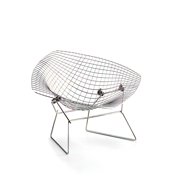 diamond chair harry bertoia, 1952 vitra miniatures collection