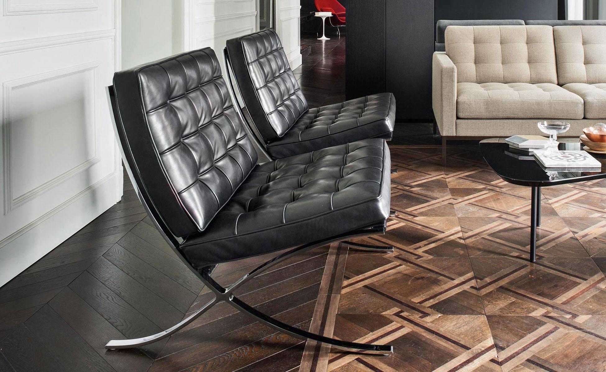 01 knoll International-barcelona chair berlin bei steidten+