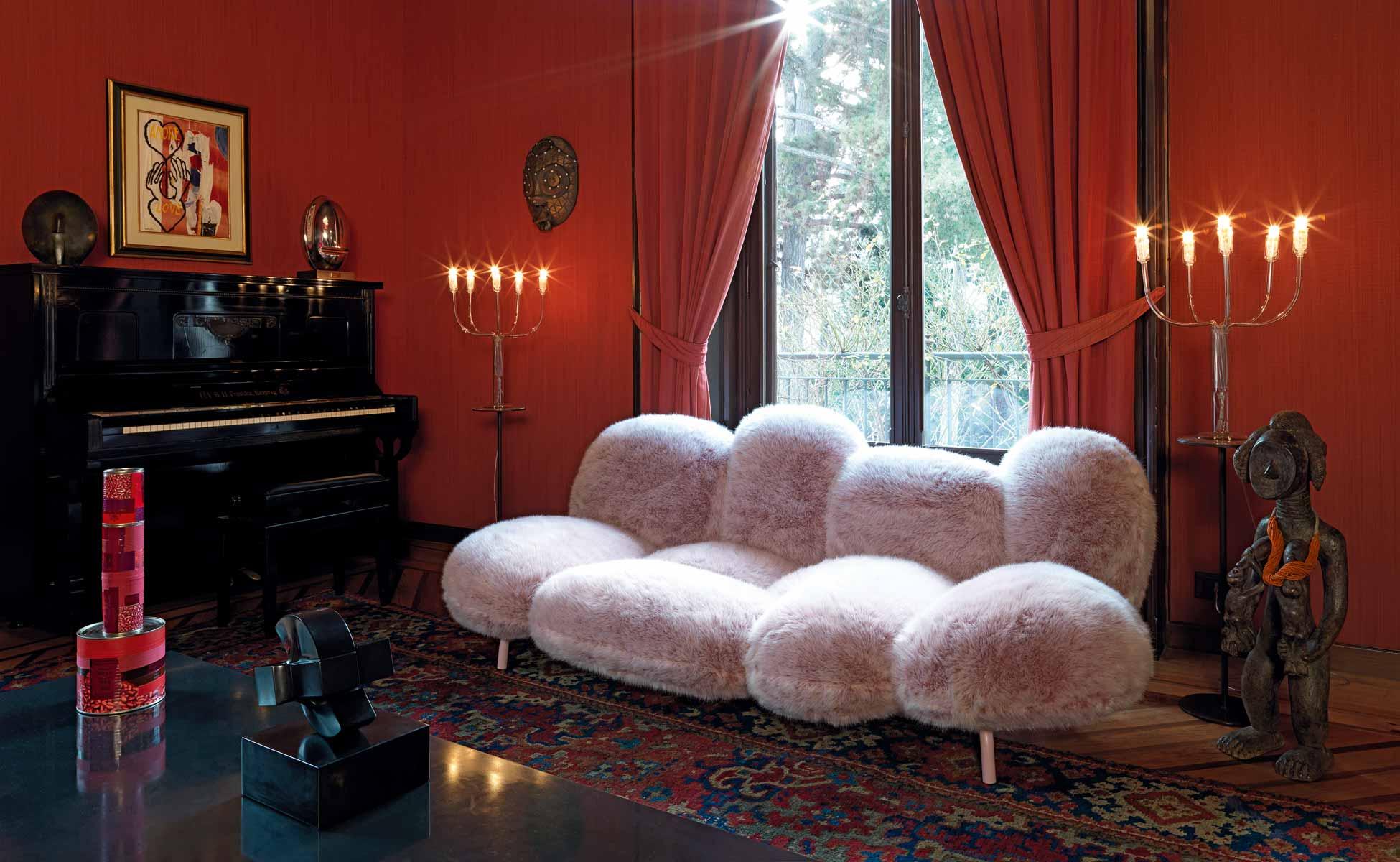 edra cipria sofa in berlin bei steidten+