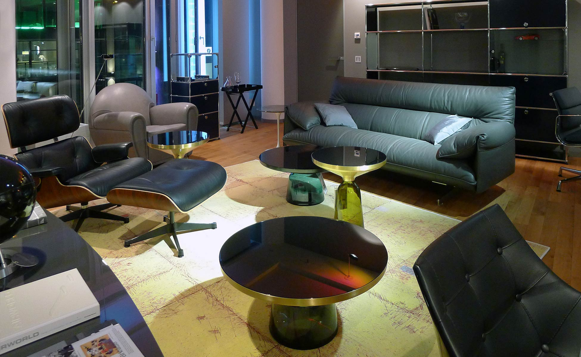 classicon + vitra + cassina im steidten+ showroom in berlin