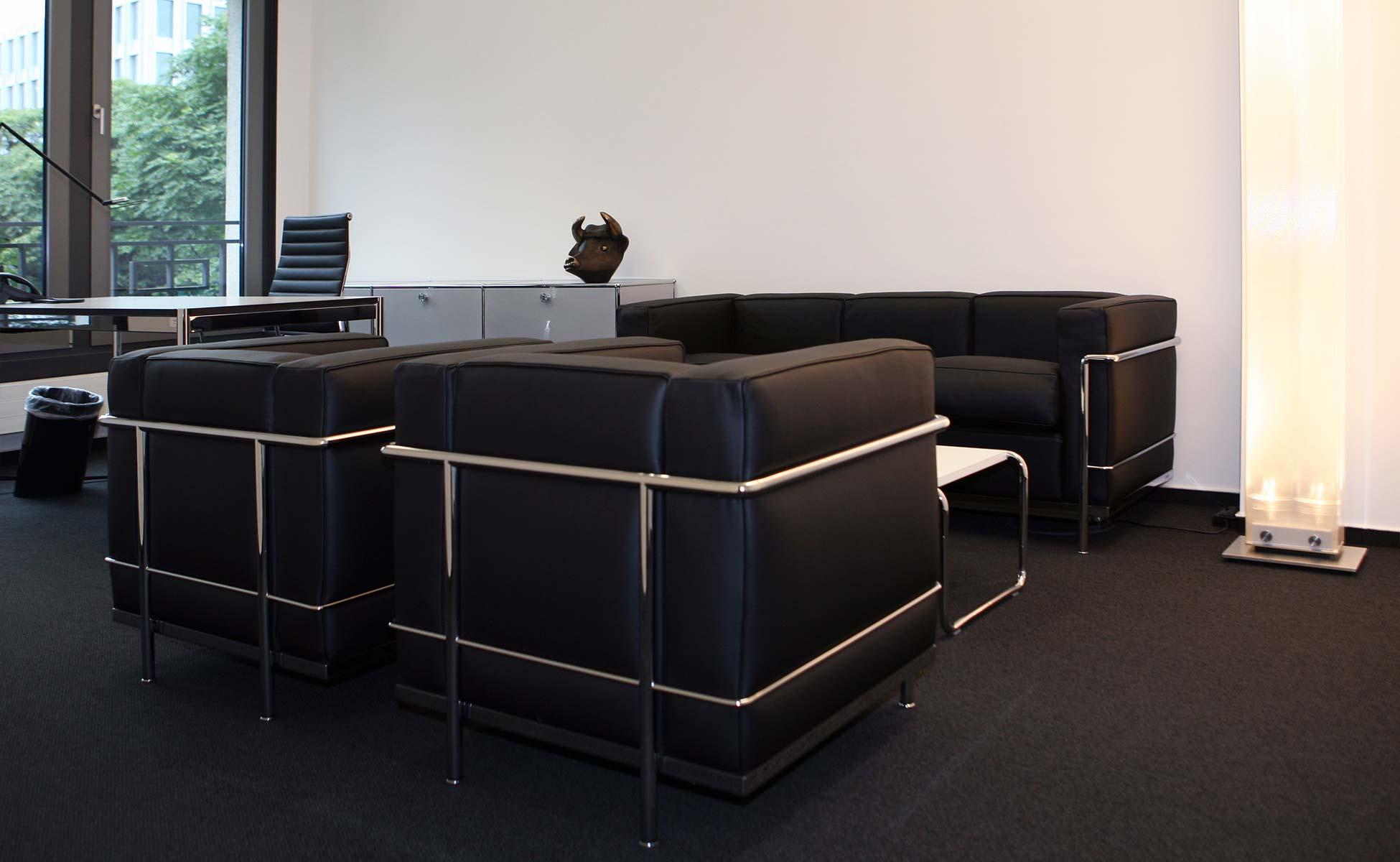 Büroeinrichtung Cassina Lounge von steidten+ Berlin