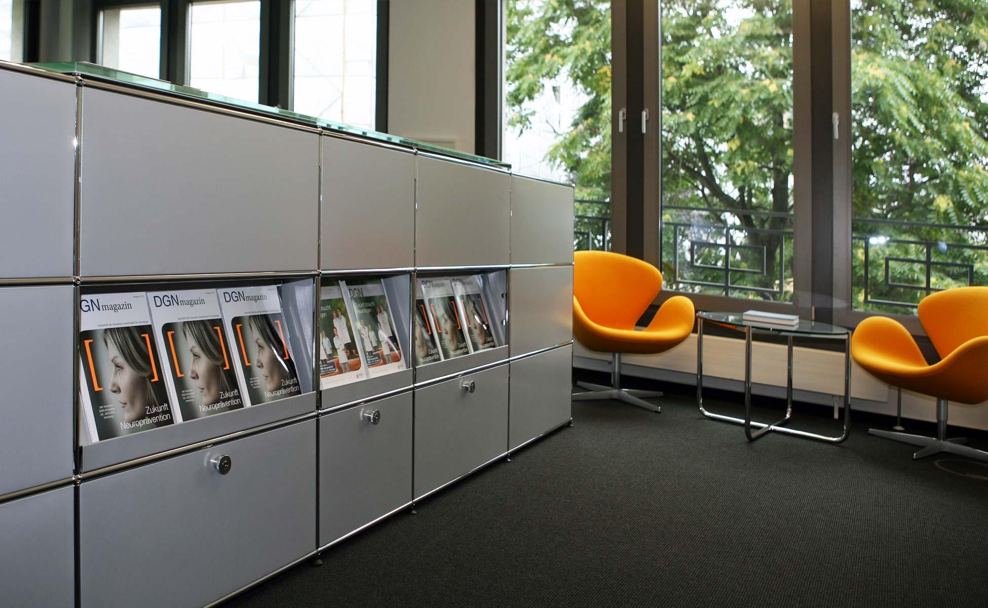 Büroeinrichtung - USM Haller Empfangstheke von steidten+ Berlin