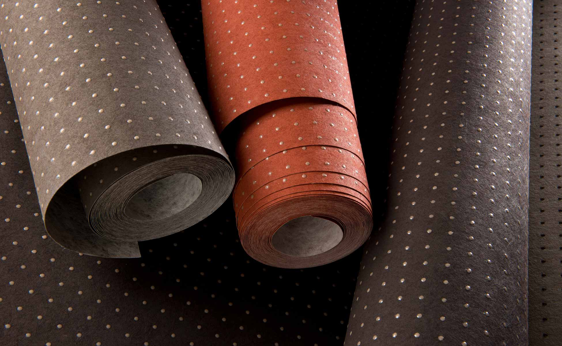 arte international lecorbusier dots wallcover