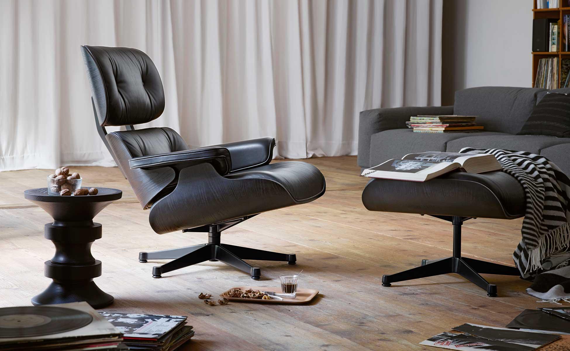 Poltrona eames replica: eames lounge chair and ottoman bauhaus italy