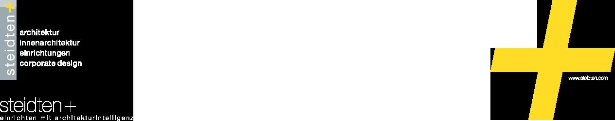 steidten+ einrichten mit architekturintelligenz Logo