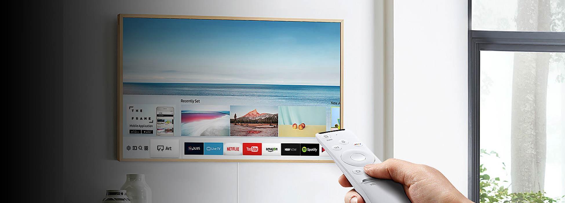 samsung led tv the frame bei steidten+ berlin