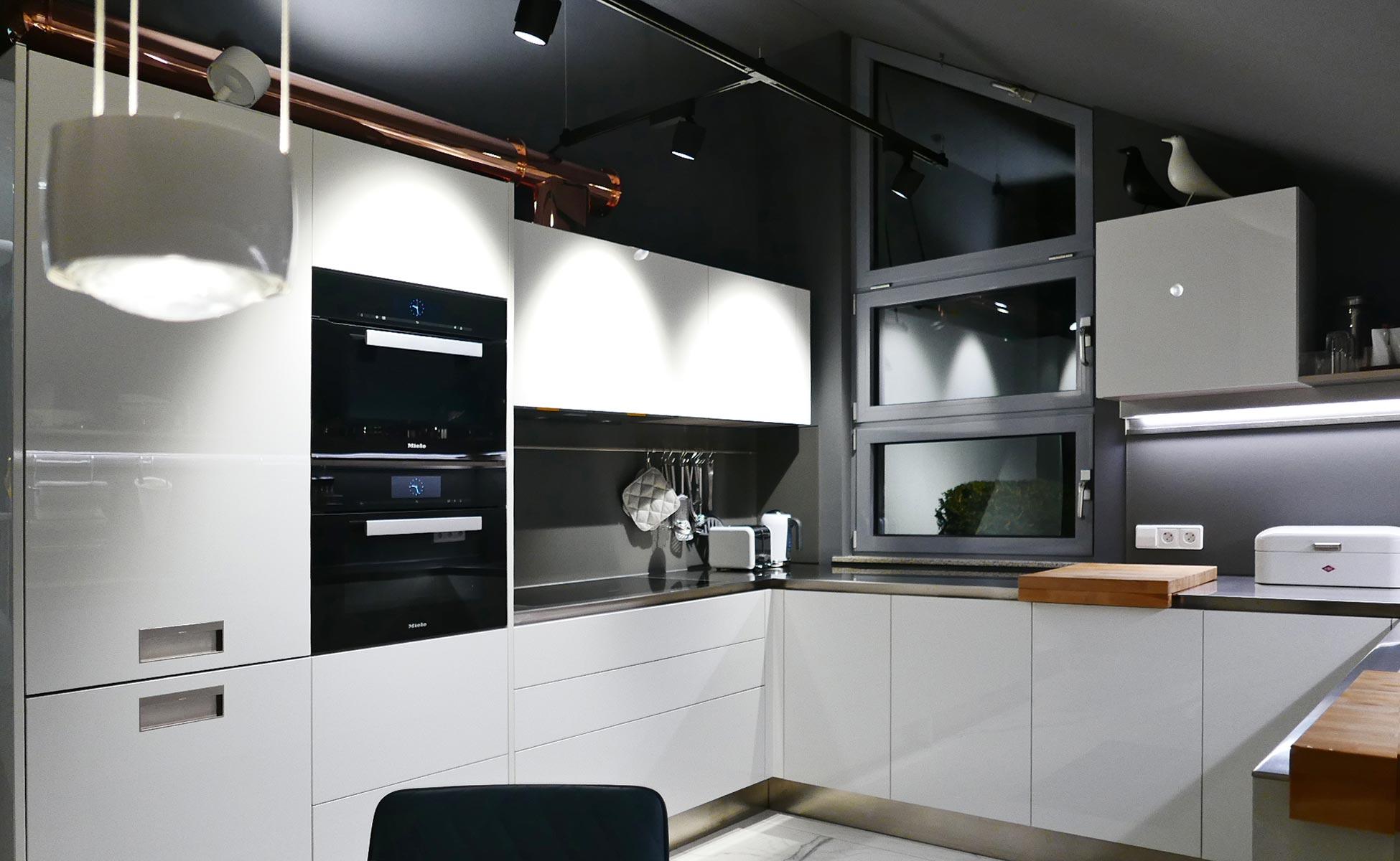 09 arclinea küche + occhio leuchten bei steidten+ berlin