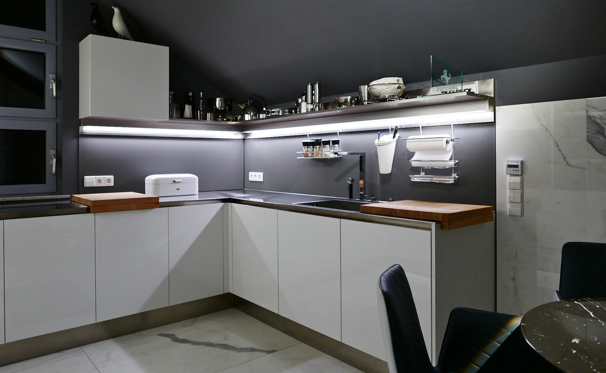 12 arclinea küche + granitifiandre bei steidten+ berlin