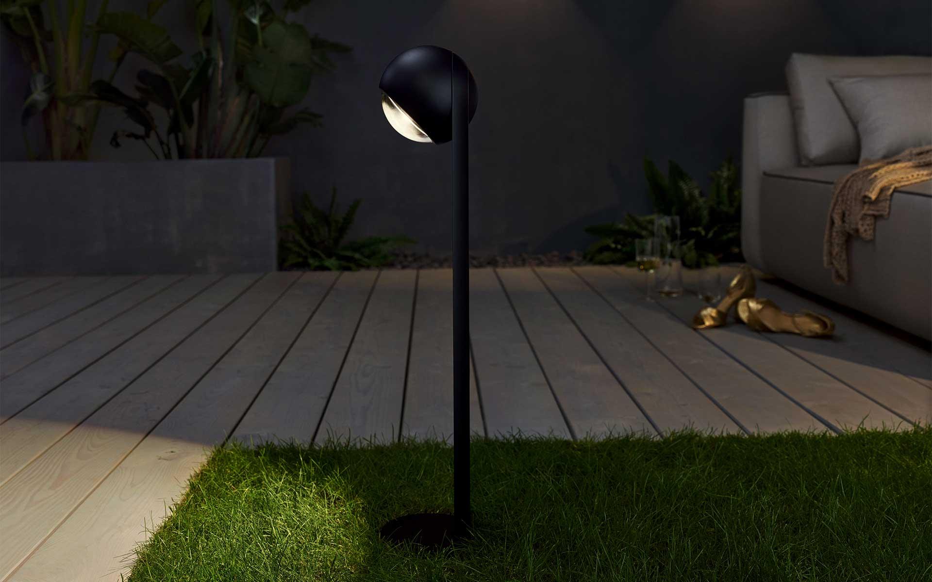 occhio sito palo outdoor leuchte in berlin bei steidten+