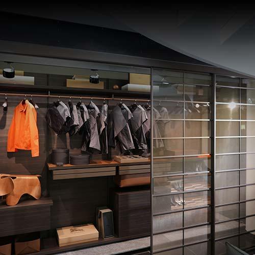 rimadesio dress bold schrank + rimadesio soho schiebetüren in berlin bei steidten+ interior
