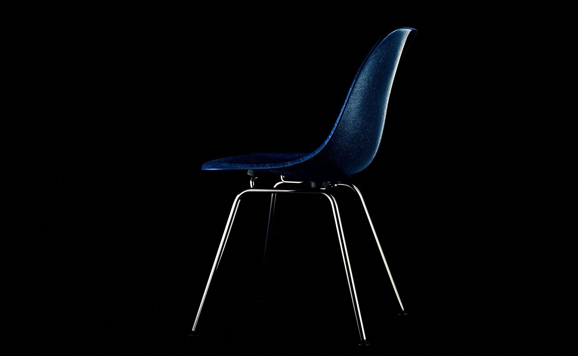 vitra eames fiberglass chair berlin steidten+ navy blue