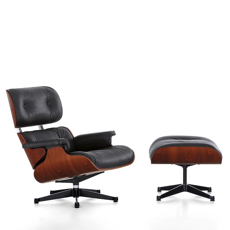 lounge chair & ottoman mahagoni in berlin