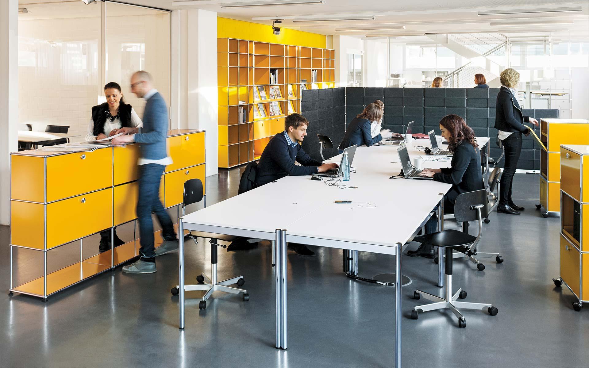 Leasing Möbel Berlin, USM Haller bei steidten+
