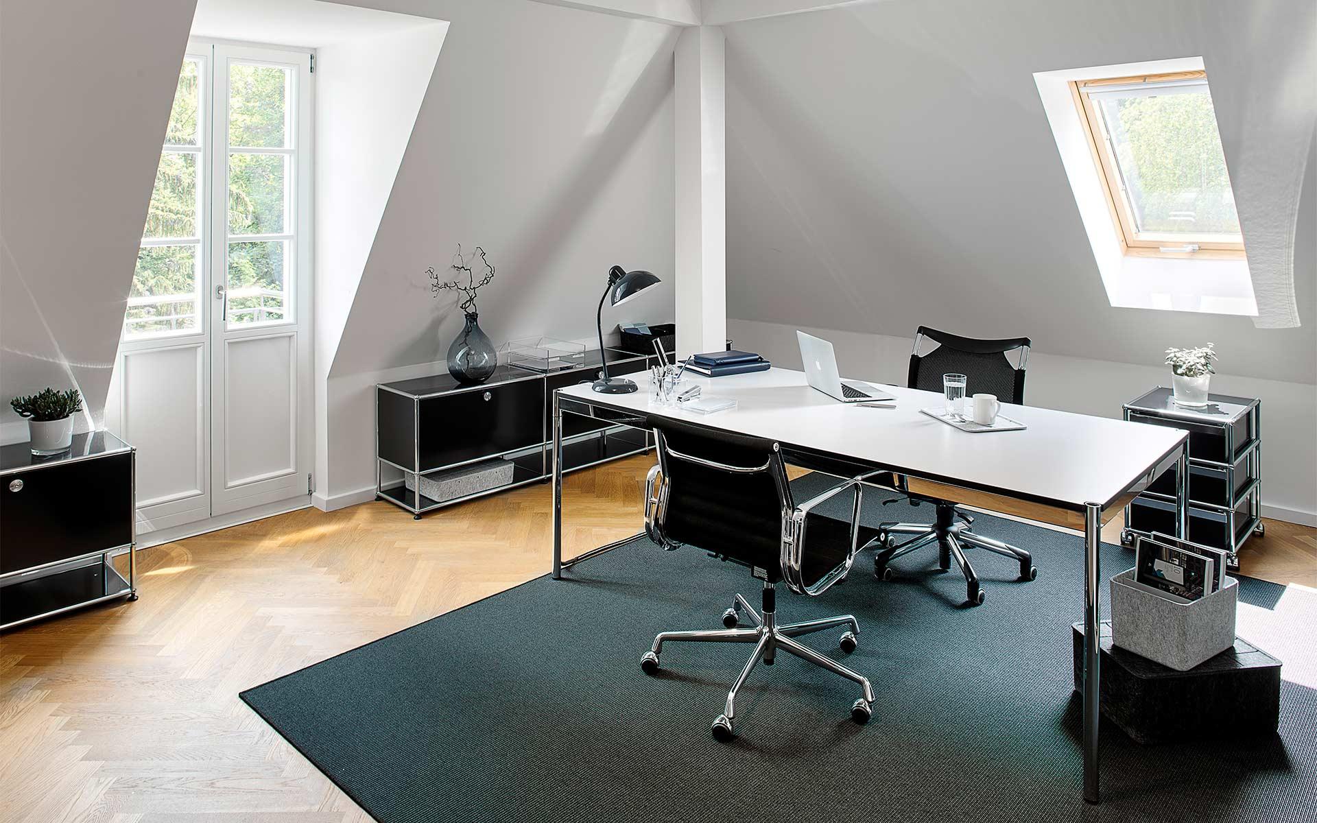 Leasing Möbel Berlin, Vitra + USM Haller bei steidten+