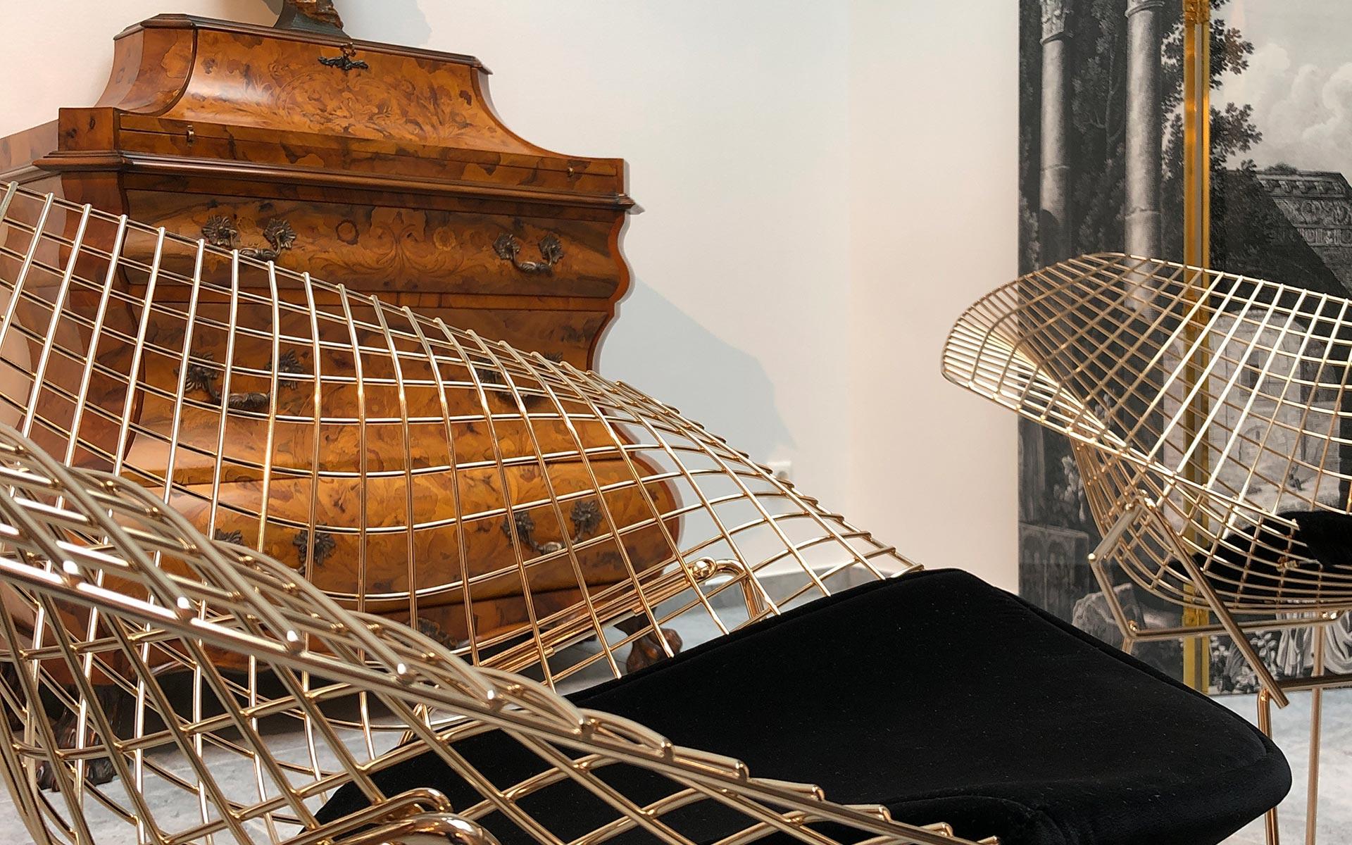 Knoll Inc. Dimond Chair - Interiordesign steidten+ Berlin