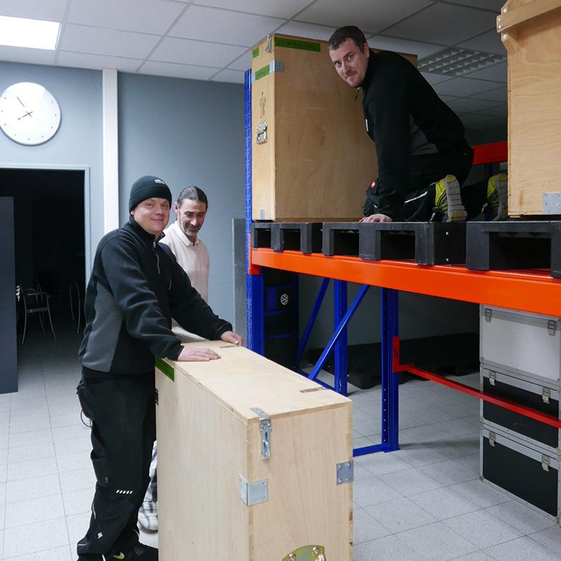 Maximilian Steidten + Ronny Franke + Mario Heider