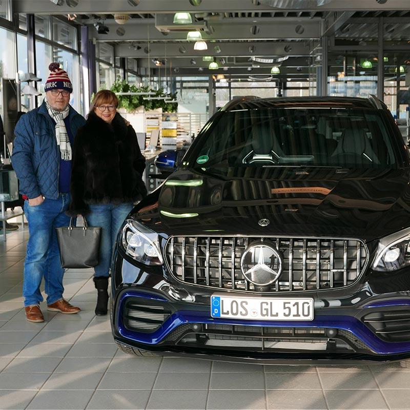 Armin + Maria-Magdalena Steidten Mercedes Benz