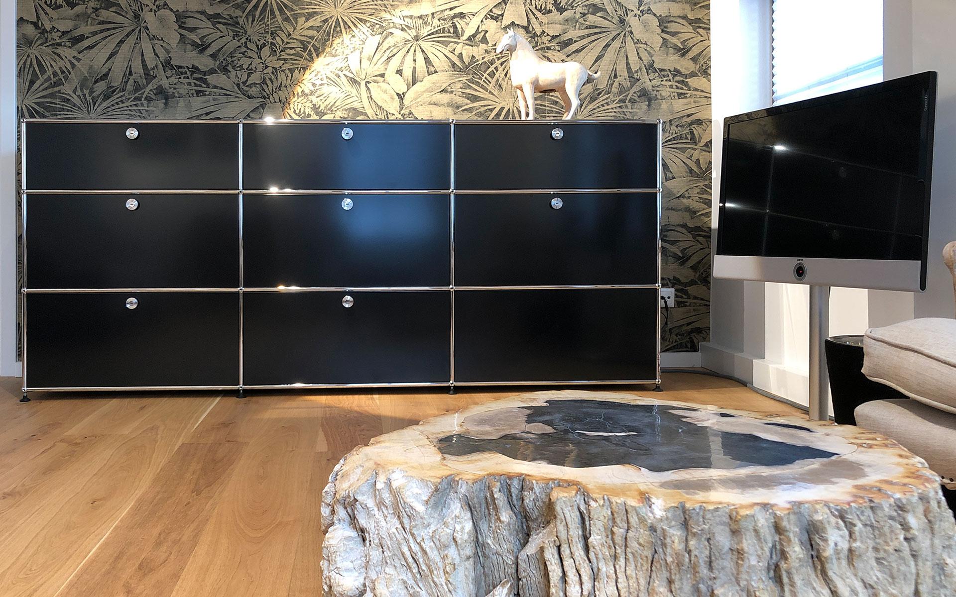 USM Haller Sideboard + Janua Tisch - Interiordesign steidten+ Berlin