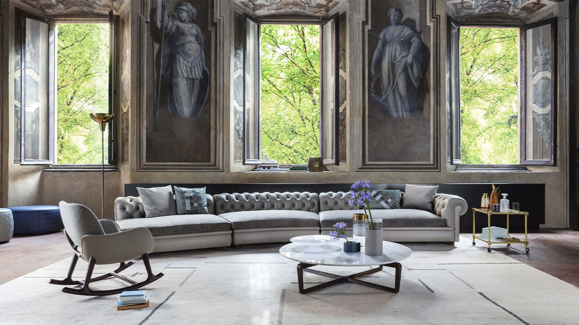 Poltrona Frau Chester Sofa in Berlin