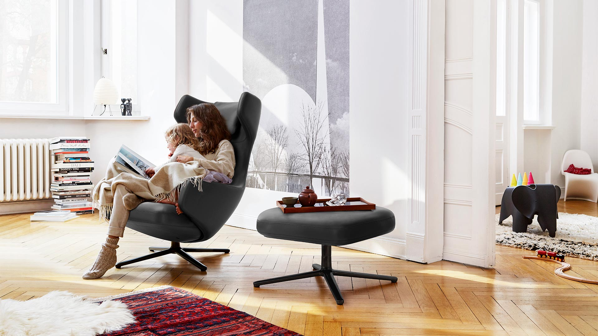 Vitra Grand Repos Leather in Berlin