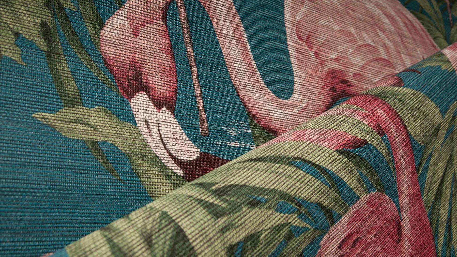 Arte International Avalon Flamingo Wallcover