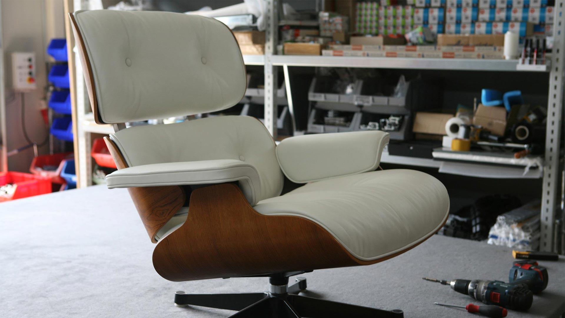 Reparatur Vitra Eames Lounge Chair Ersatzteile in Berlin bei steiden+09