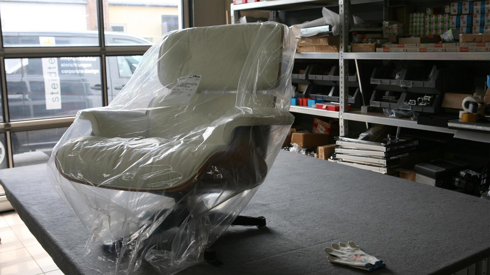 Reparatur Vitra Eames Lounge Chair Ersatzteile in Berlin bei steiden+10